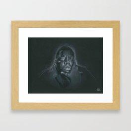 THINK BIG Framed Art Print