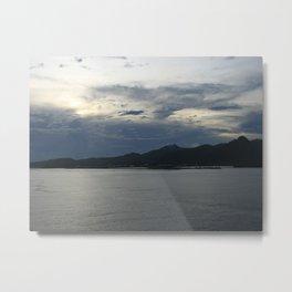 Dusk in Samoa DPG150414a Metal Print