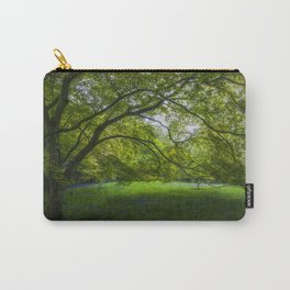 Bluebell Meadow Carry-All Pouch