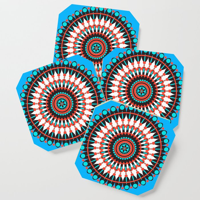 Native American Mandala Coaster By Frankiecat Society6