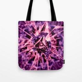 Pink Crack Tote Bag