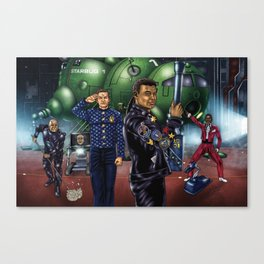 Boys From The Dwarf Canvas Print