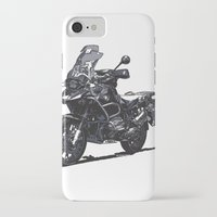 bmw iPhone & iPod Cases featuring BMW R1200GS by Ernie Young