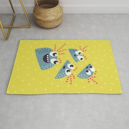 Happy Candy Friends Rug