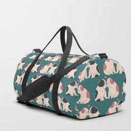 English Bulldog Kisses Duffle Bag