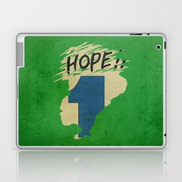 Hope!! (time machine ) Laptop & iPad Skin