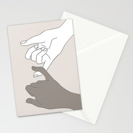 Pinky Promise 4 Stationery Cards