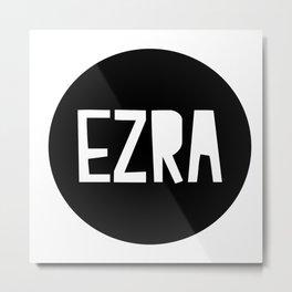 EZRA cushion Metal Print