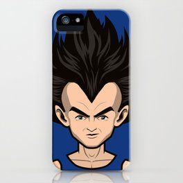Back to the childhood - Vegeta iPhone Case