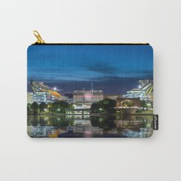 Heinz Field at night - Pittsburgh NFL stadium Carry-All Pouch