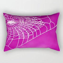 FUCHSIA WEB Rectangular Pillow