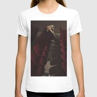 theatre T-shirts featuring Theatre girl by Jovana Rikalo