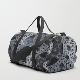Fractal Art - spaceship drive Duffle Bag