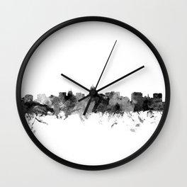 Madison Wisconsin Skyline Wall Clock