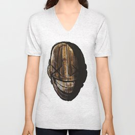 Smiling jack face Unisex V-Neck