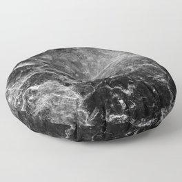 Enigmatic Black Marble #1 #decor #art #society6 Floor Pillow