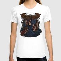 nouveau T-shirts featuring Elizabeth Nouveau by Karen Hallion Illustrations