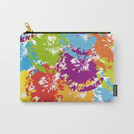 colorful Splotches Carry-All Pouch