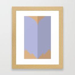 "Belts of Justice: Bombshell Series ""The Jungle Girl"" Framed Art Print"
