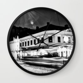 Lund In Motion 1 Wall Clock