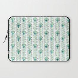 Green Jellyfish Laptop Sleeve