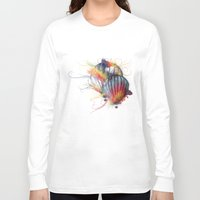 hot air balloon Long Sleeve T-shirts featuring Hot Air Balloon by Courtney Jean