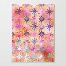 Bohemian Night Skye (Peach) Canvas Print