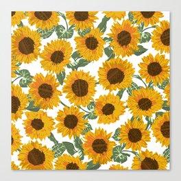 SUNNY DAYS -sunflowers- Canvas Print