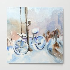 Lost bike Metal Print