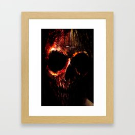 """void"" Framed Art Print"