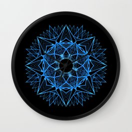 WoodMandala Wall Clock