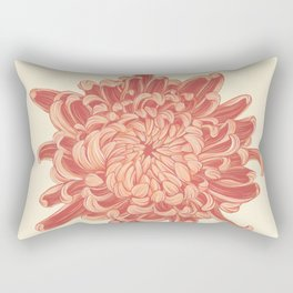 The Mums III Rectangular Pillow
