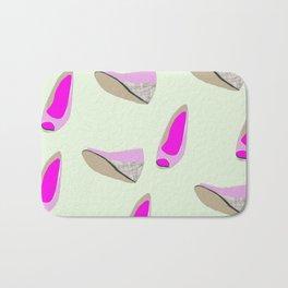 Pink shoe Bath Mat