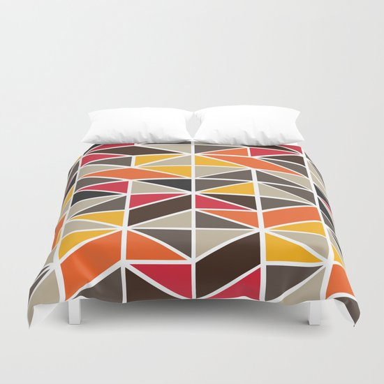African Tribe Pattern No. 3 Duvet Cover
