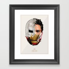 Iron M Framed Art Print