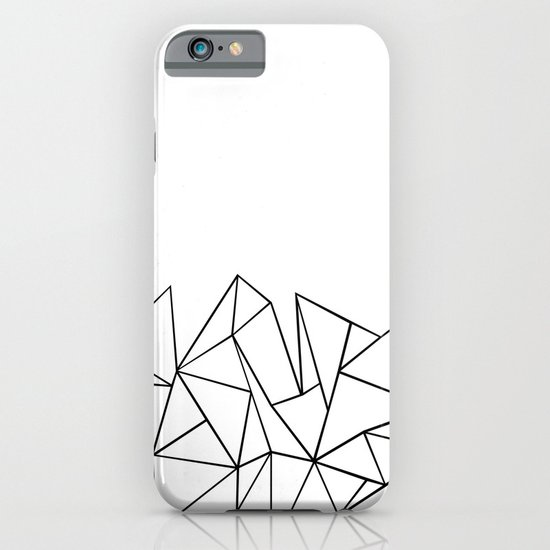 Ab Peaks White Iphone Case By Projectm