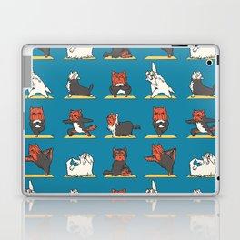 Yorkshire Terrier Yoga Laptop & iPad Skin