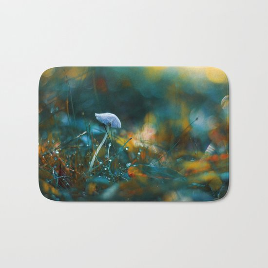 Falling to the Flames Bath Mat