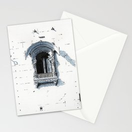 Window in Mehrangarh Fort Stationery Cards