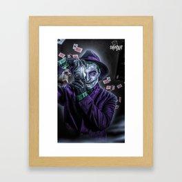 Joaquin Killing Joke Framed Art Print