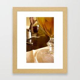 Cold Drinks Framed Art Print