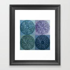 Spinnies (color option 2)   Framed Art Print