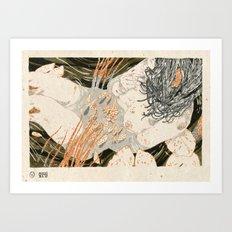 Shallow End. Art Print