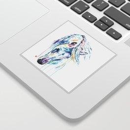 Arabian Horse Watercolor Sticker