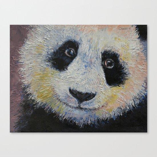 Panda Smile Canvas Print