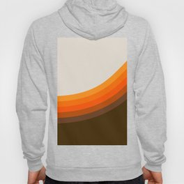 Golden Horizon Diptych - Right Side Hoody