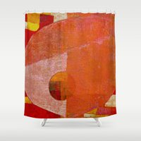 cancer Shower Curtains featuring Cancer by Fernando Vieira