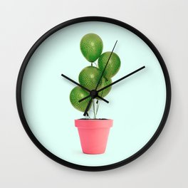 CACTUS BALLOON Wall Clock