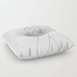 Never Let Me Go II Floor Pillow