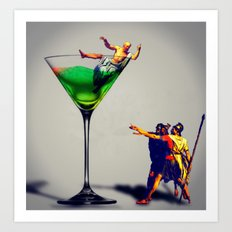 MixMotion: Sours Art Print